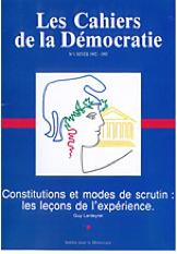 les cahiers de la démocratie